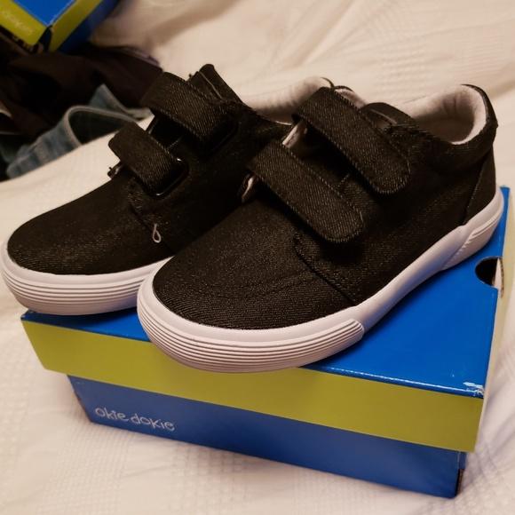 okie dokie Shoes | Boys Lil Black